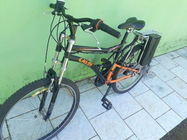 Bicicleta Elétrica Caloi - Foto 6