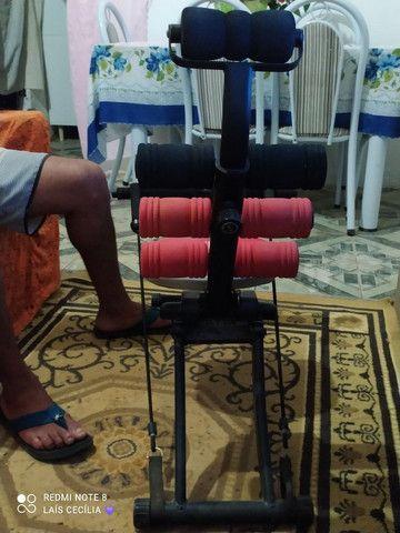 Cadeira abdominal lombar usada
