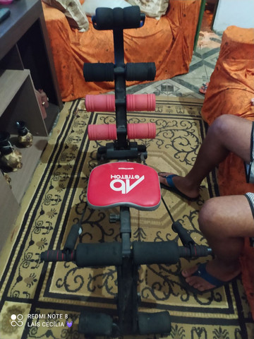Cadeira abdominal lombar usada  - Foto 2