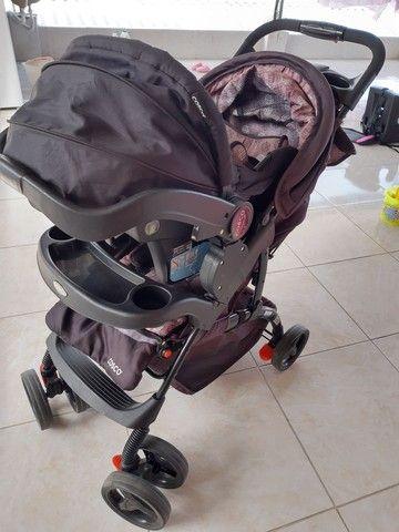 Carrinho e Bebê conforto Marca Cosco - Foto 5