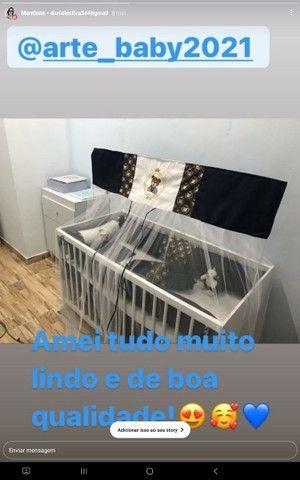 Kit berço ursinho príncipe com cortina  - Foto 2