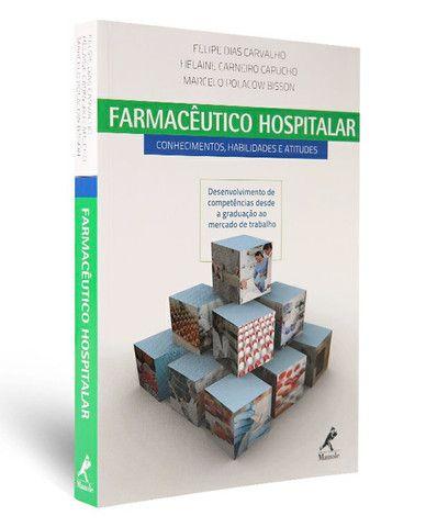 Coleção  de livros farmácia, para quem faz faculdade ou curso.   - Foto 3