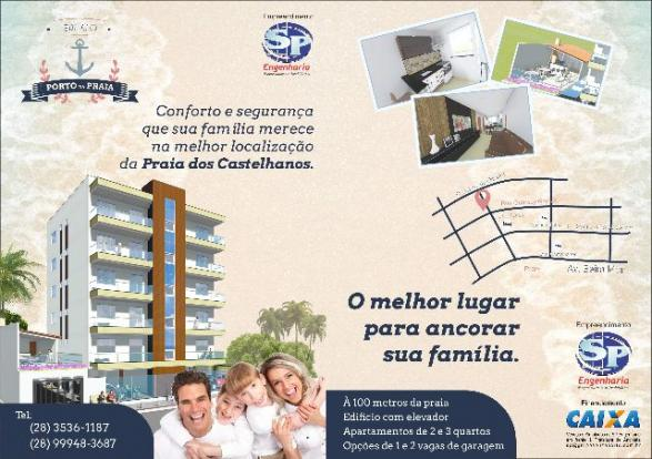Residencial Porto da Praia - Praia dos Castelhanos