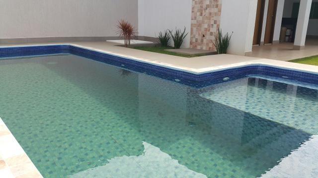 Casa nova 3quartos 3 suítes piscina churrasqueira rua 8 Vicente pires - Foto 8