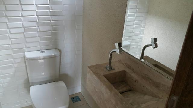 Casa nova 3quartos 3 suítes piscina churrasqueira rua 8 Vicente pires - Foto 7