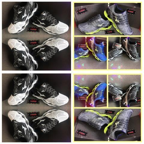 4b6a8a376c6ee Tênis Mizuno PROPHECY 7 O F E R T A IMPERDÍVEL - Roupas e calçados ...