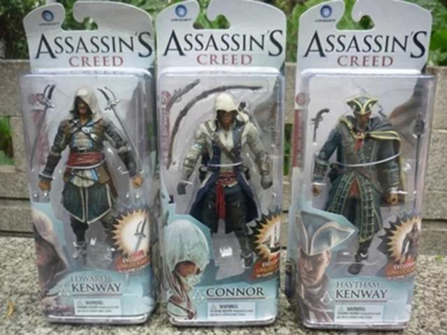 Boneco Assassins Creed 4 Bandeira Negra 14cm (diversos modelos) - Foto 2