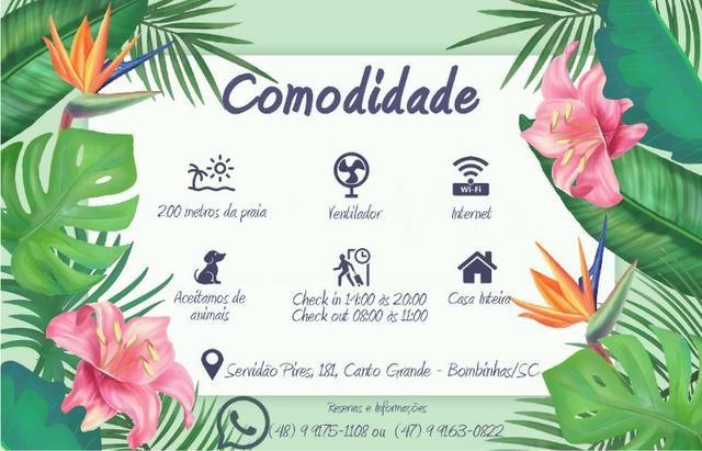 Promoção, Aluga-se Casa em Bombinhas/SC à 200 metros da Praia - Foto 13