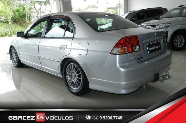 Honda Civic EX 1.7 Automático Completíssimo Legalizado Baixo - Foto 4