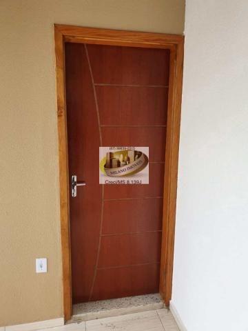 Casa à venda com 2 dormitórios em Nova três lagoas, Três lagoas cod:410 - Foto 12