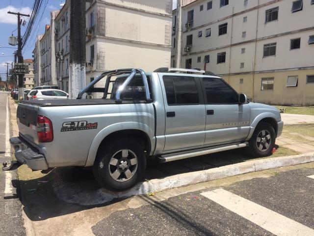 Vendo a mais conservada S 10 executive de Belém ! Motor MWM 2.8 turbo Dieesel 4x4 mod 2010 - Foto 4