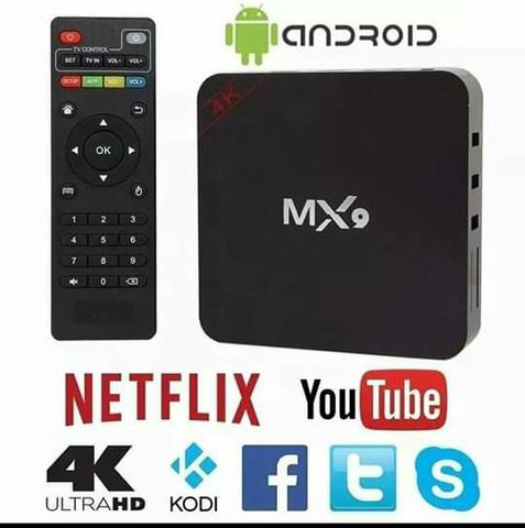 Tv Box MxQ Novos Com Garantia e entrega grátis