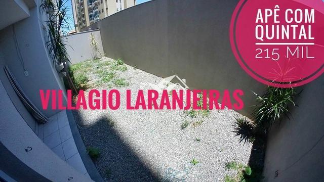 GM - Lindo Apartamento com Quintal Condomínio Club Villaggio Laranjeiras - ES