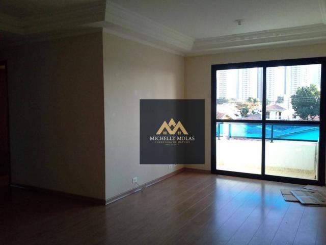 Apartamento com 3 dormitórios à venda, 90 m² por r$ 415.000 - jardim del rey - são josé do - Foto 2