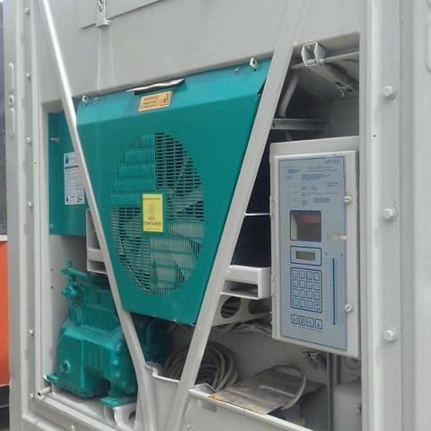 Containers Reefer de 20 e 40 pés