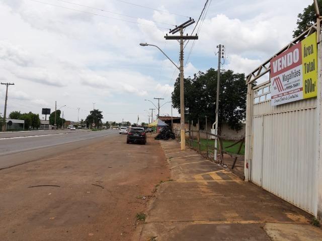 600 metros quadrados área 100% comercial de frente para GO 070 em Goianira urgente ! - Foto 6