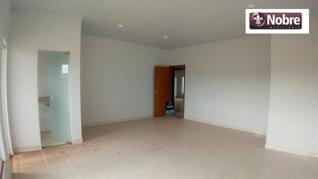 Sala para alugar, 36 m² por r$ 570,00/mês - plano diretor sul - palmas/to - Foto 3