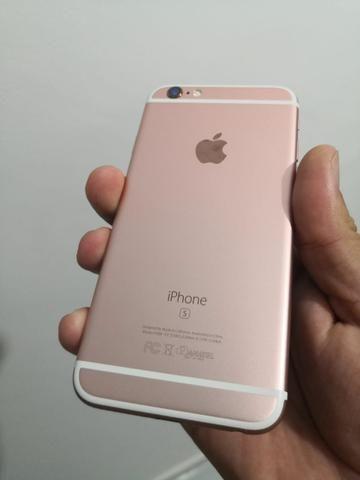 IPhone 6s 64GB Rosê ACEITO CARTÃO - Foto 3