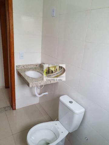 Casa à venda com 2 dormitórios em Nova três lagoas, Três lagoas cod:410 - Foto 17