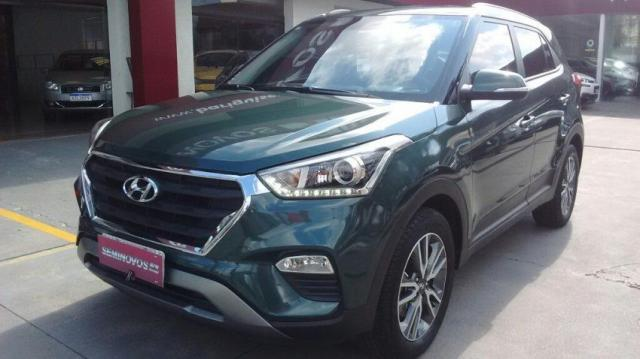 HYUNDAI IMP CRETA PULSE 2.0 16V AT6 FLEX Verde 2017/2017 - Foto 2