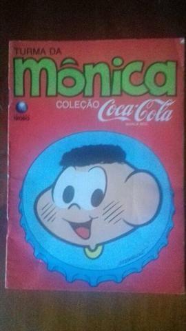 Turma Da Mônica Coleçao Coca Cola Cascão
