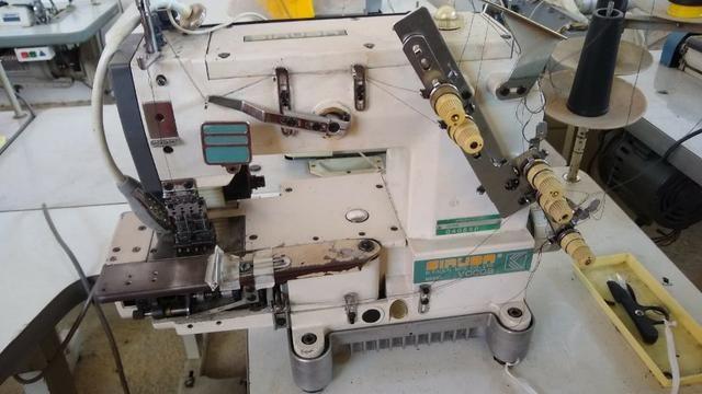 Maquina De Costura Elastiqueira Siruba Vc008