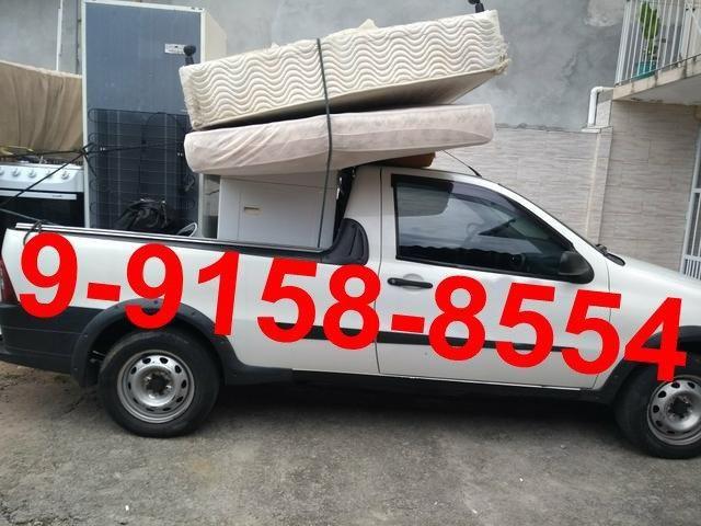 9-9158-8554 Carro pequeno frete e mudança