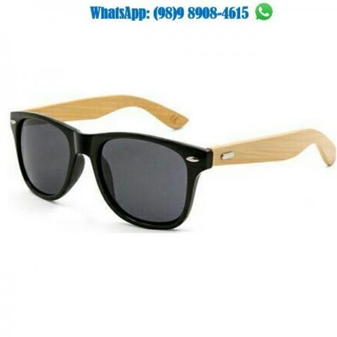 Óculos Em Madeira Modelo Exclusivo Unissex - Bijouterias, relógios e ... ef257fe2f5