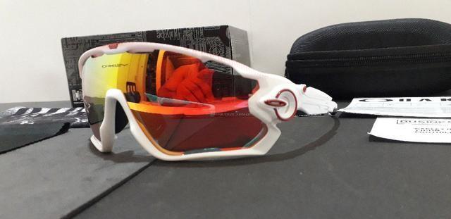 be4cf09bcb71c Óculos Oakley Jawbreaker Le Tour De France C  4 Lentes Reserva - Importado