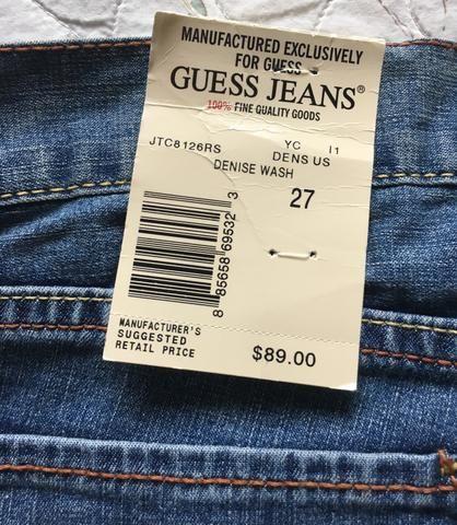 92141d745 Calça Jeans GUESS Feminina - Roupas e calçados - Jurerê ...