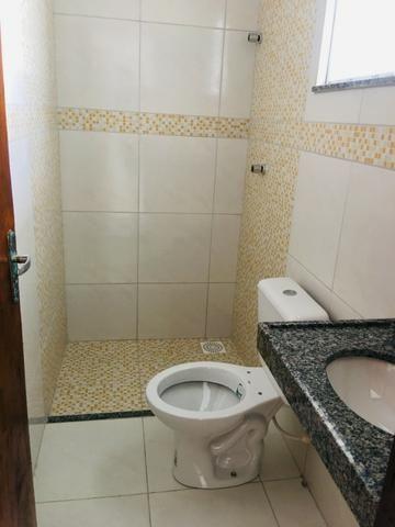 Linda casa com documentação gratis:fino acabamento, 3 quartos , 2 banheiros , 3 vagas - Foto 15