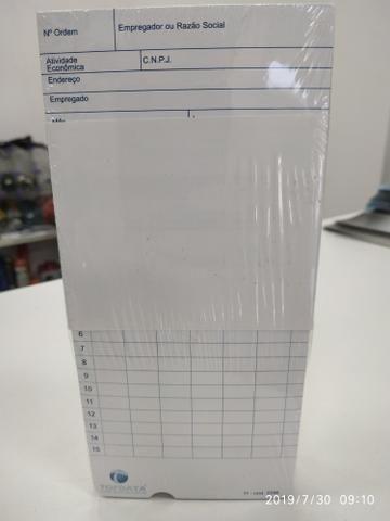 Pacote 100 cartões para relógio cartográfico - Foto 2