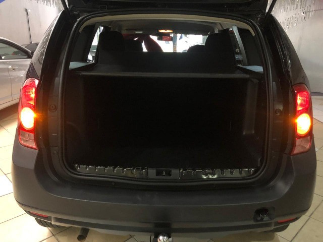 Renault Duster 2012 1.6 Flex 4x2 Manual Preta Estudo Troca e Financio - Foto 11