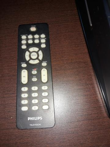 "Televisor Phillips tubo 21"" tela plana Stereo com controle - Foto 5"