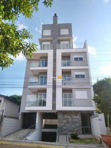 Apartamento com 1 dormitório para alugar, 42 m² por R$ 690/mês - São Cristóvão - Lajeado/R