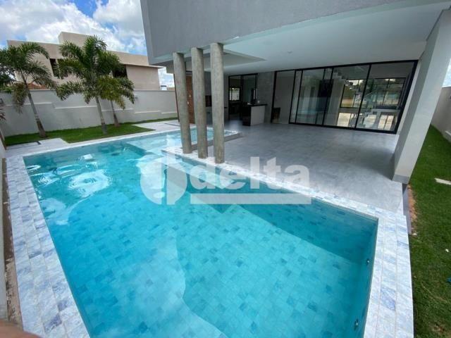 Casa de condomínio à venda com 3 dormitórios em Gávea, Uberlândia cod:33984
