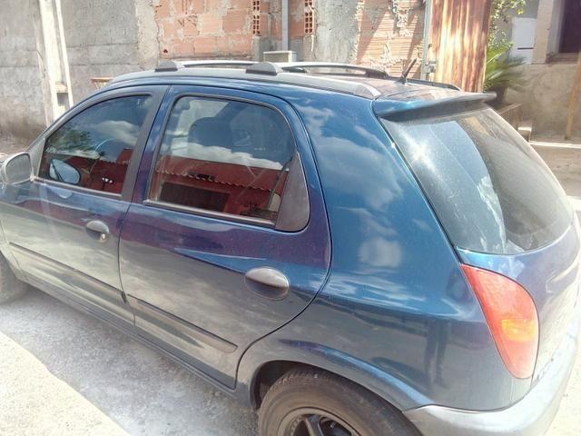 Celta -2003 vhc 4 portas banco de couro aro 14 vendo 10 mil ou troco por carro sedan - Foto 2
