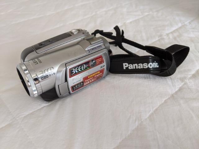 Filmadora Mini DV 3CCD Panasonic