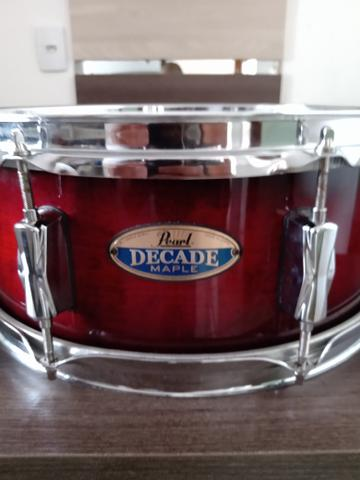Caixa Bateria Pearl Decade Maple 14x5,5