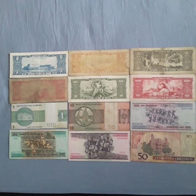 Lote de notas antigas do Brasil - Foto 2