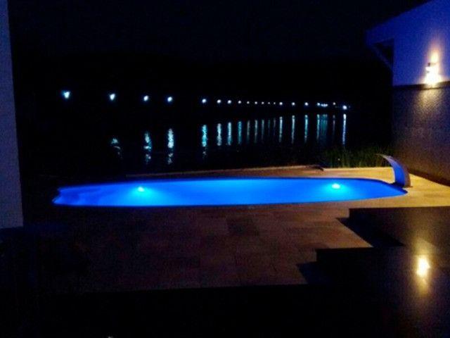 TA- Queimão piscina de fibra 5,8 metros Anil- 30 anos de mercado - Foto 3