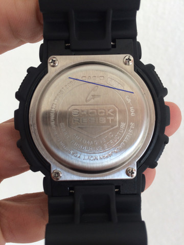 Relógio Casio G-Shock (GA-100)A prova d?água - Foto 6