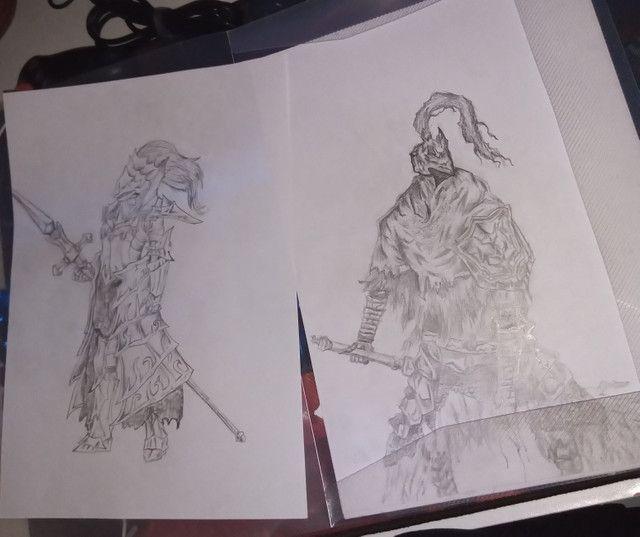 Vendo desenhos e faço desenhos - Foto 3