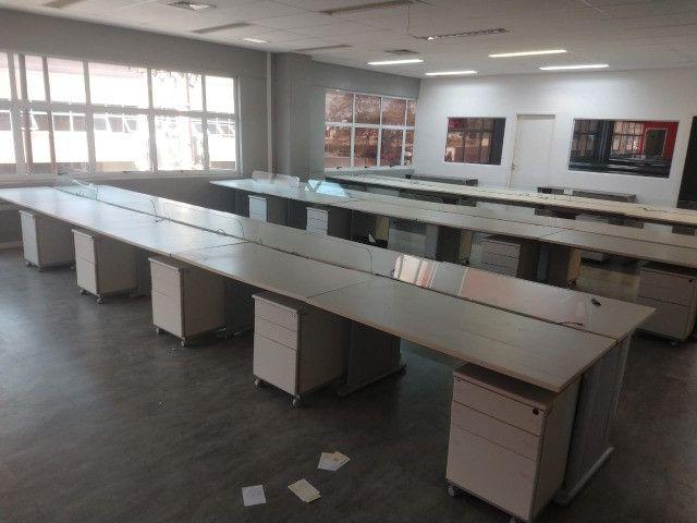 Mesa de Escritório - Conjunto 10 mesas Excelente qualidade - Foto 2