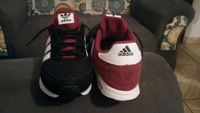 Tênis masculino Adidas numeração 40 41  - Foto 2