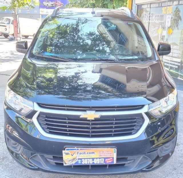 Vendo Chevrolet Spin  automático LT 2019 com Kit GNV - Foto 2