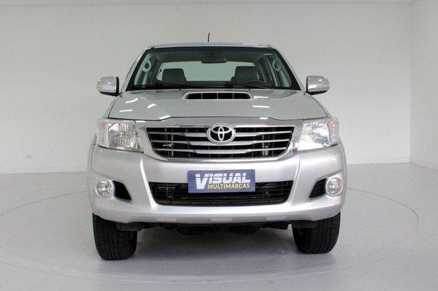 Toyota Hilux SRV turbo diesel 4x4 aut. - Foto 6