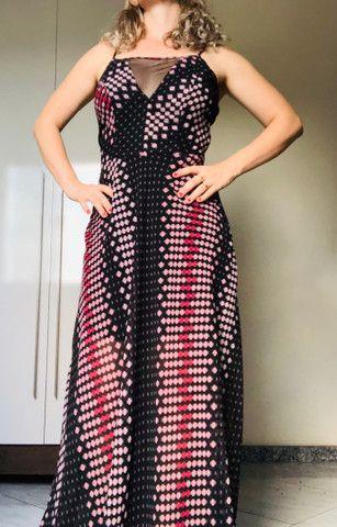 Vestido usado 1 única vez