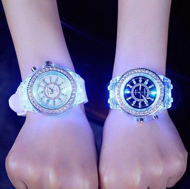 Relógio de Led Luminoso - Foto 5