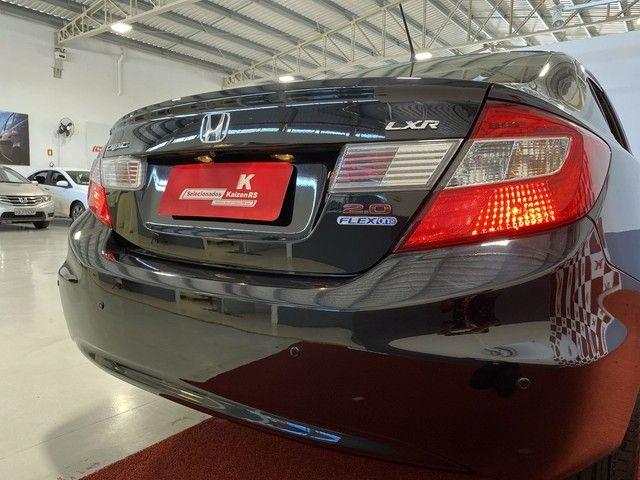 Honda CIVIC Civic Sedan LXR 2.0 Flexone 16V Aut. 4p - Foto 13